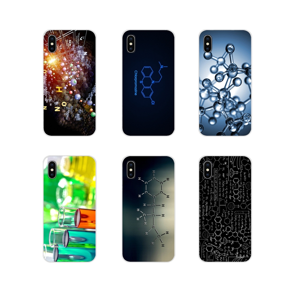 Accessories Phone Shell Covers Chemistry For Samsung Galaxy S4 S5 MINI S6 S7 edge S8 S9 S10 Plus Note 3 4 5 8 9