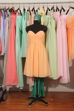2015 Sexy Short Beach Bridesmaid Dresses Orange Blue Red Pink Maid Of Honor Cheap Wedding Party Dress
