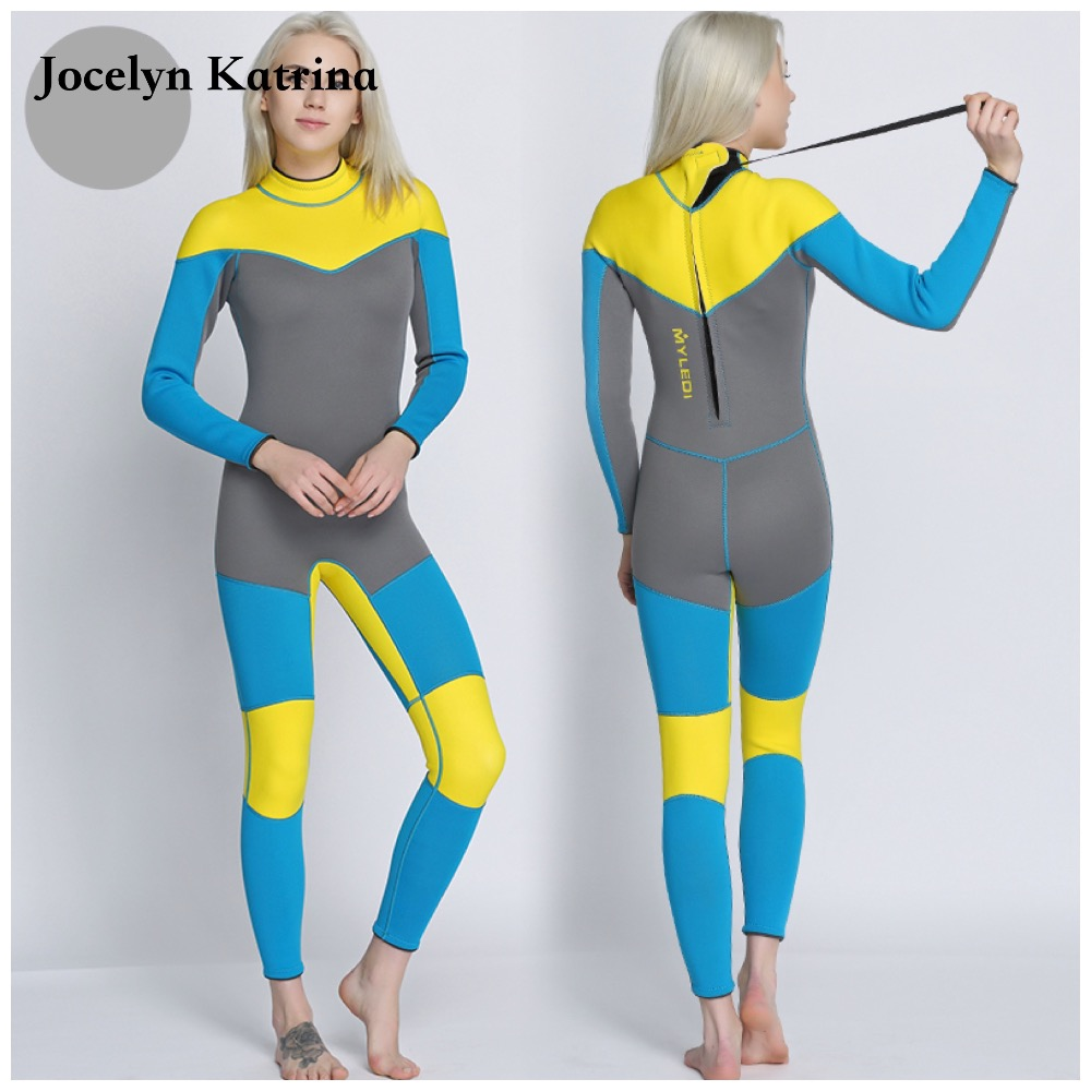 Women Spearfishing Wetsuit 3MM Neoprene SCR Superelastic Diving Suit Waterproof Warm Professional Surfing Wetsuits Full Suit sbart camo spearfishing wetsuit 3mm neoprene camouflage wetsuit professional diving suit men wet suits surfing wetsuits o1018 page 5
