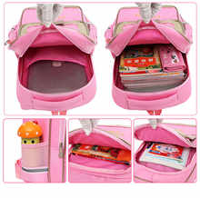 Trolley Children School Bags Set Mochilas Kids Backpacks With Wheel Trolley Luggage For Girls backpack Backbag kids Schoolbag
