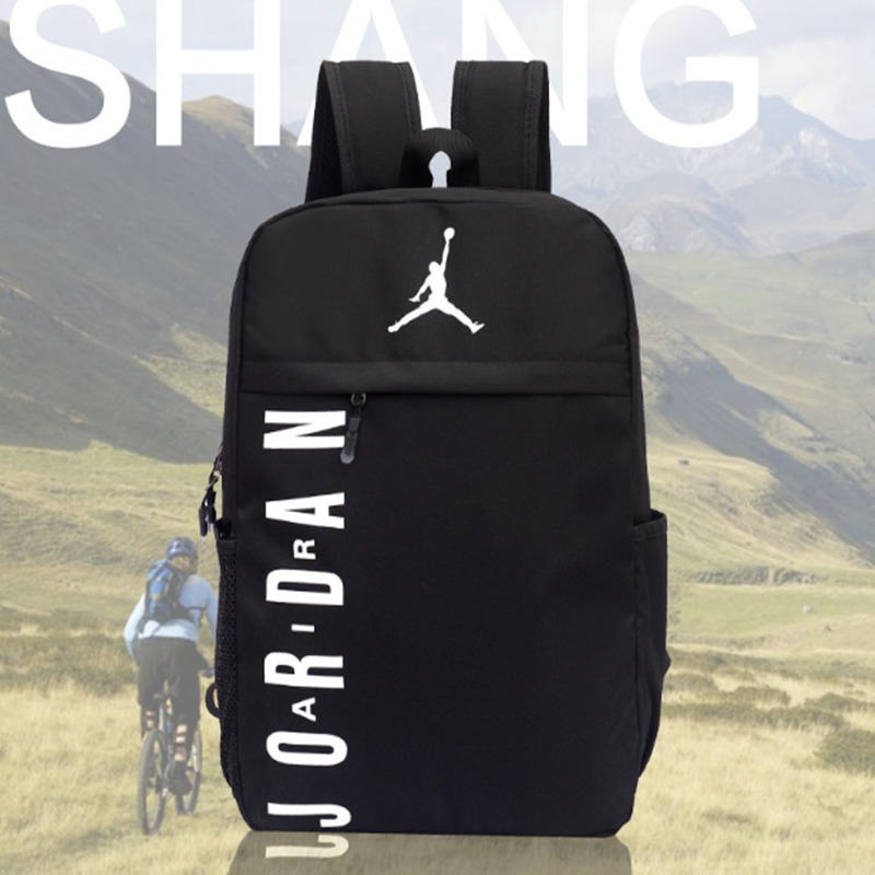Nike Air Jordan Men And Women Training Backpack Large Capacity Sports Gym Bag