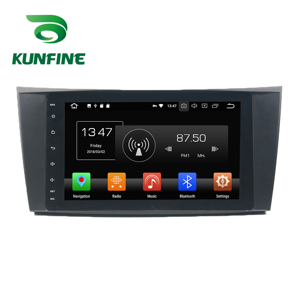 Octa Core 4GB RAM Android 8.0 Car DVD <font><b>GPS</b></font> Navigation Multimedia Player Car Stereo Deckless <font><b>For</b></font> BENZ E-Class W211 2002-08 Radio image