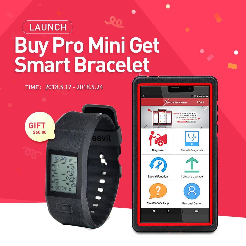 LAUNCH X431 Pro Mini Bluetooth Wifi Full ECU Auto Diagnostic Tool With 2 Year Free Update