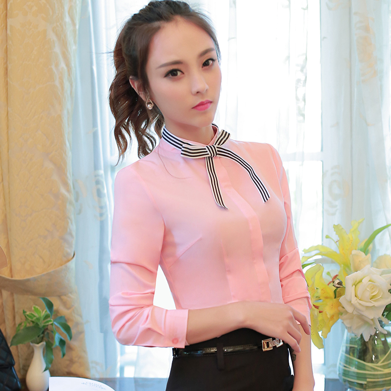 student style s wear o neck collar sleeve bow