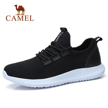 CAMEL 2018 Men Casual Shoes Lightweight  Men's Shoes Black Breathable Spring Summer Shoes for Men Footwear Chaussure Homme