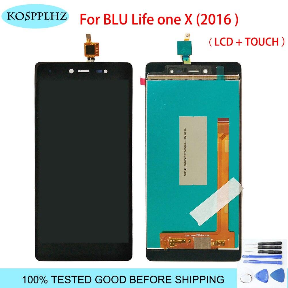Для <font><b>BLU</b></font> L0070UU жизни One X 2016 ЖК-дисплей Дисплей и Сенсорный экран сборки Запчасти для авто аксессуары для мобильных телефонов + Инструменты