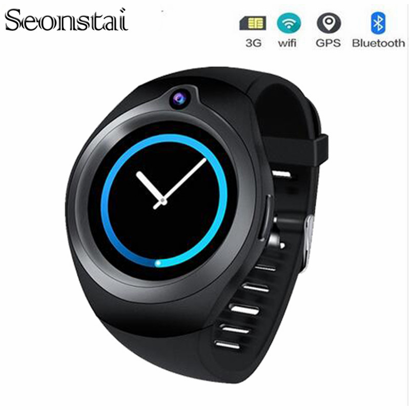3G S216 montre intelligente Android 5.1 fréquence cardiaque Relogios Support Bluetooth WiFi GPS carte SIM Smartwatch lecteur MP3 pour Android iOS