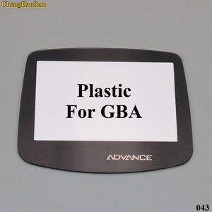 Image 2 - Lente de vidro plástica para a lente de vidro da tela de gbc gba para o protetor avançado da lente da cor do gameboy com/adhensive