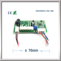 Manufacturers selling micro brushless dc motor blower drive PWM speed regulating motor control board WS2406DCA 200 OB4