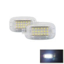 Error Free Led Side Door Door Courtesy Footwell Vanity Mirror Cargo Glove Box Lights For Benz C E S R G ML CL SL GL GLK Glass