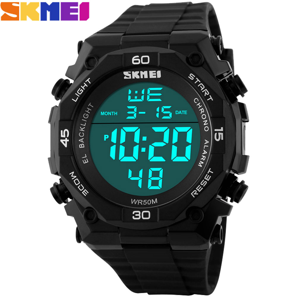 ჱMen digital watches man ® Sport Sport Watch LED ...