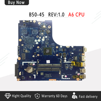 LA B291P AMD A6 CPU B50 45 motherboard For Lenovo B50 45 Laptop motherboard tested 100%