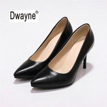Большой Размеры Для женщин обувь 9 см летние туфли на высоком каблуке MF2 хорошее туфли-лодочки из искусственной кожи обувь для вечеринок для женская свадебная обувь 182-50