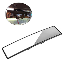 New Universal 300mm Panoramic Curve Convex Interior Clip On Rear View Mirror Drop shipping