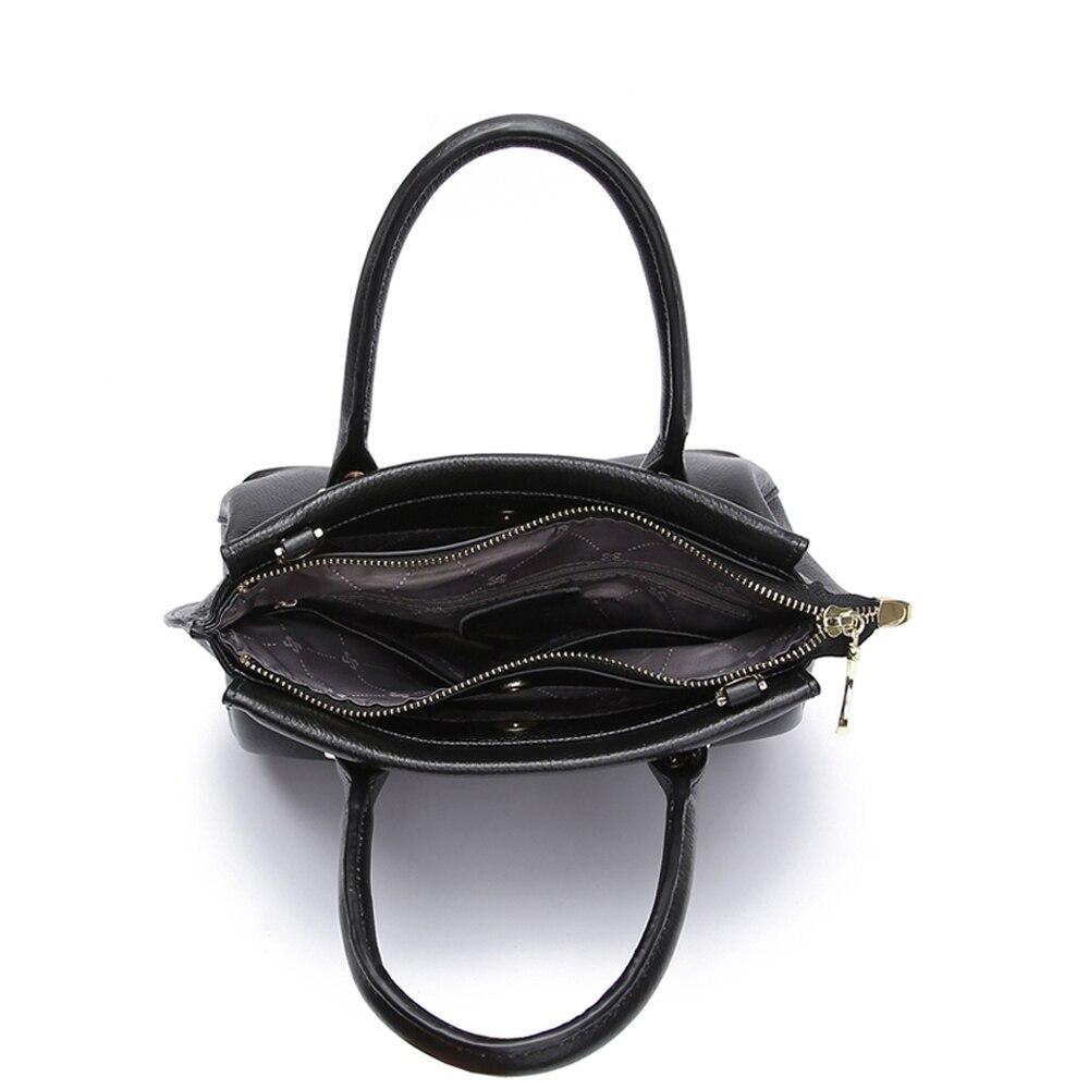JIANXIU Brand Genuine Leather Bag Women Messenger Bags Female Handbags Lychee Texture Cowhide Shoulder Crossbody Bag 2018 Tote