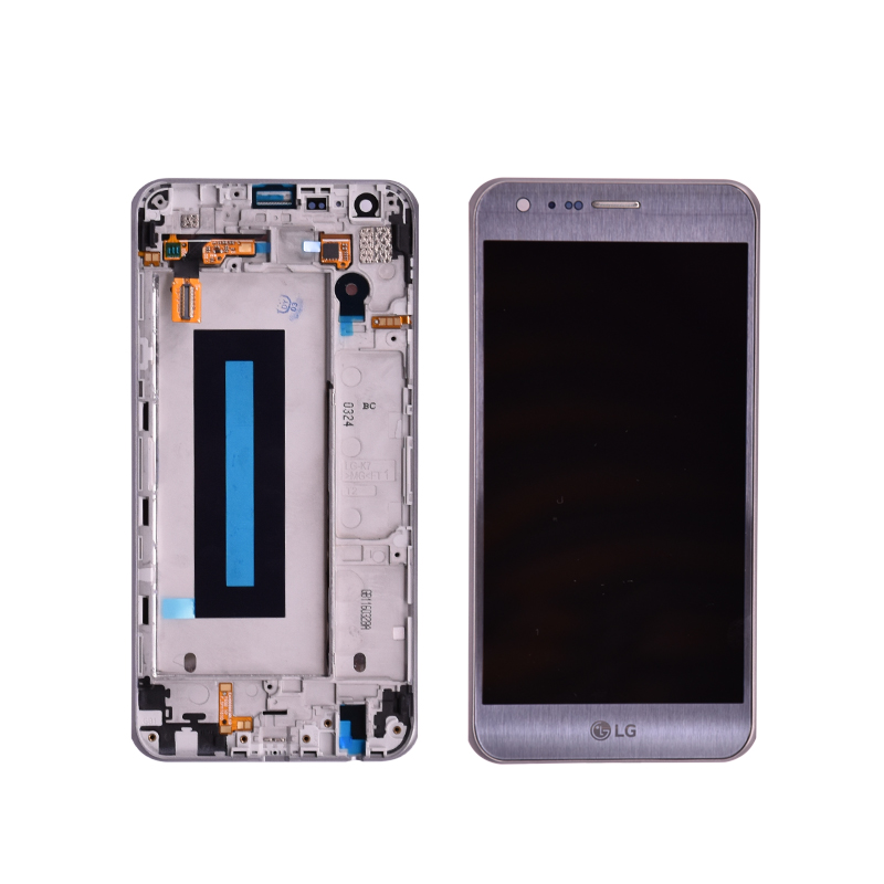 100% тестирование оригинальный для LG X Cam K580 ЖК дисплей с сенсорный экран планшета Ассамблеи рамкой Бесплатная доставка