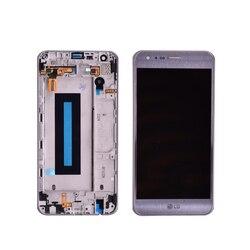 100% testowane oryginalne do lg X Cam K580 wyświetlacz LCD z montaż digitizera ekranu dotykowego z ramą darmowa wysyłka w Ekrany LCD do tel. komórkowych od Telefony komórkowe i telekomunikacja na