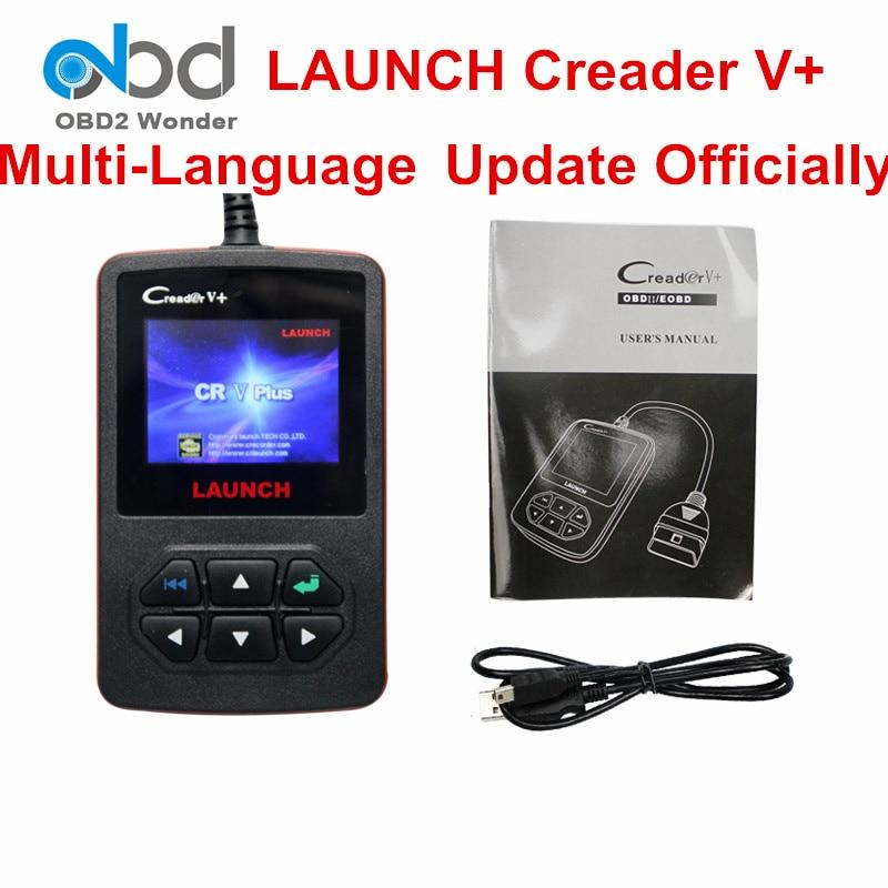 Цена за Авторизованный дистрибьютор старт Creader V + Авто сканер инструмент 100% оригинал Creader VI автомобилей Читатели код Creader V PLUS Creader 6