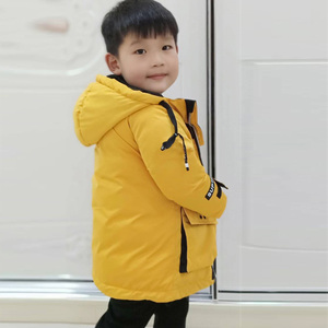 Image 5 - 2019 Winter Jacket for Boy Thick Children Coats Outerwear Warm Boys Jacket Parka Hooded Long Teenage Kid Clothes
