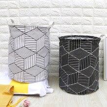 1PC Large Storage Baskets Sundries Hamper Bag Clothes Home Barrel Bags Kids Toy  Laundry Basket