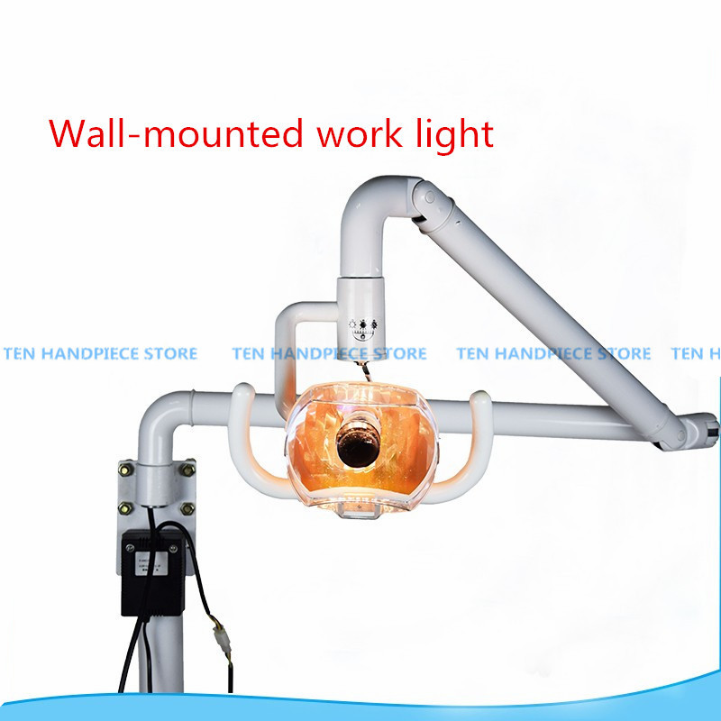 2018 good quality Wall anging Dental Medical Surgical Oral Lamp Shadowless Cold Light with Arm цена