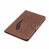leather flip For Apple Ipad Mini 7.9 Cases High quality PU Leather Flip Stand Feather Pattern Case For iPad Mini 2 3 4 Cover Funda Skin She (4)