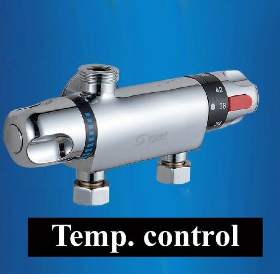 Robinet de baignoire à contrôle de température, vanne de douche