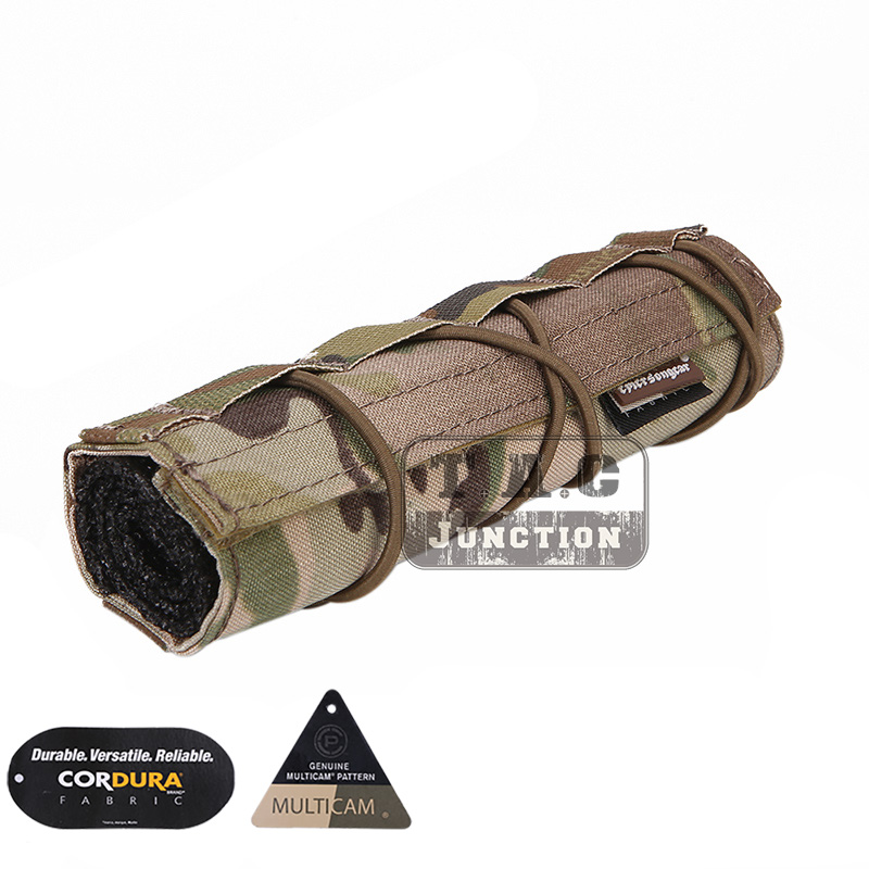 Emerson 18cm Suppressor Silencer Airsoft Cover Combat Mirage Heat Cover Shield Sleeve EmersonGear Shooting Tactical Pouch