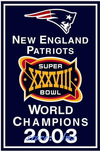 New England Patriots champion flag 3ftx5ft Banner 100D Polyester ...