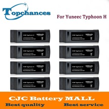 Wholesale 8PCS High Quality 4S Full 5400mAh 14.8V 79.92Wh Replacement LiPo Battery for Yuneec Typhoon H Drone RC Quadcopter