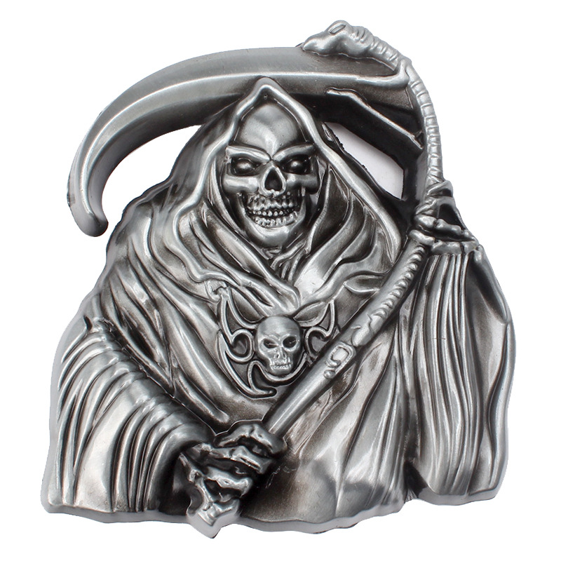 The Skeleton Alloy Belt Buckle