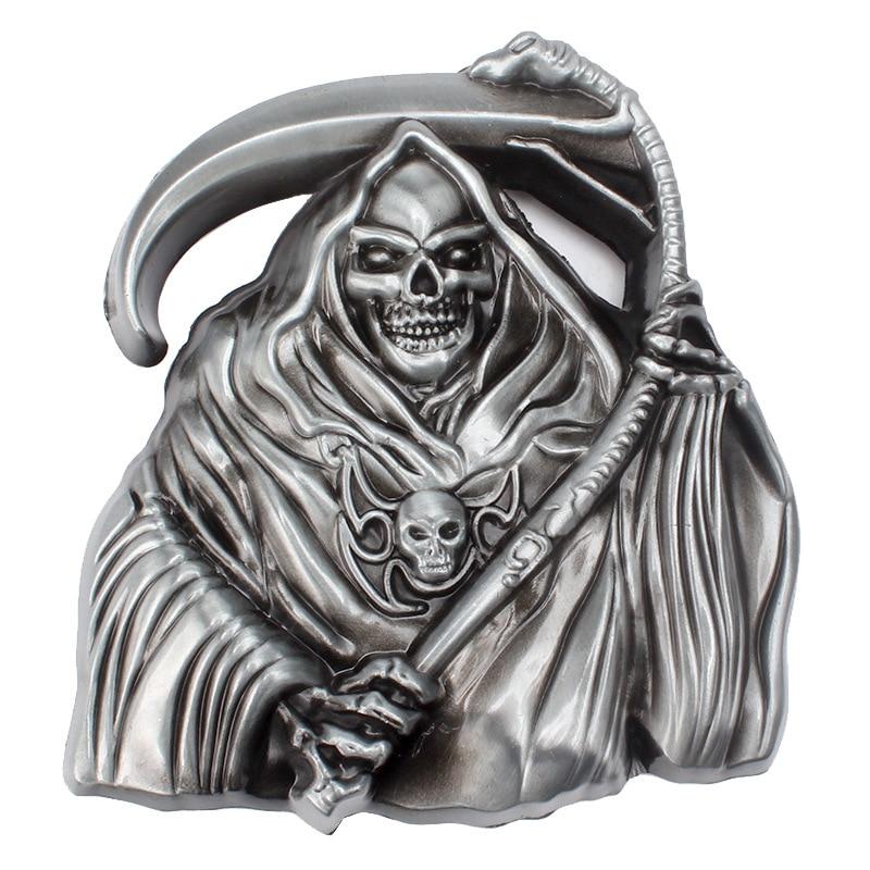 The Skeleton Alloy Belt Buckle
