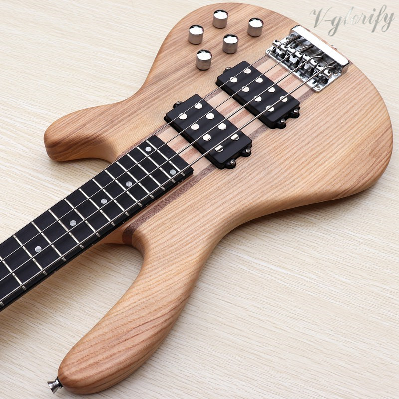good quality 4 string active jazz bass guitar