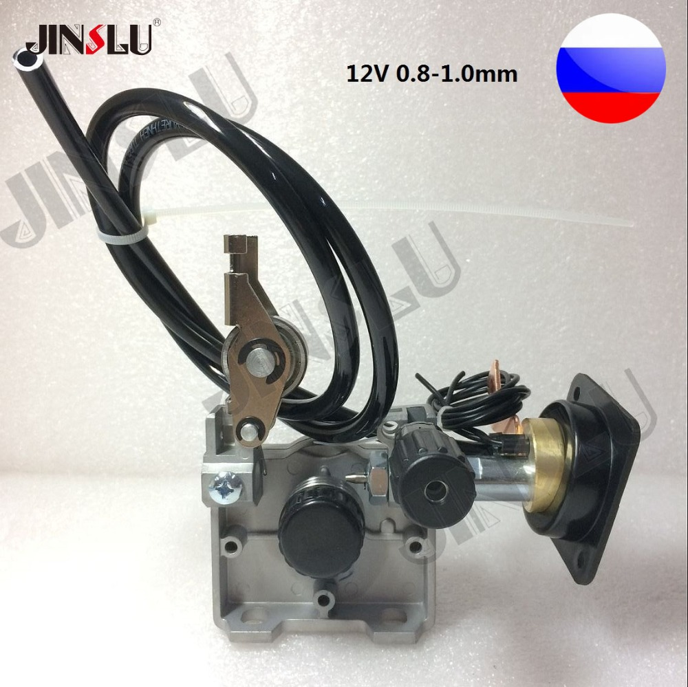 RU склад 12 В 0,8-1,0 мм ZY775 провод механизм подачи проволоки Мотор миг MAG сварочный аппарат евро-разъемом миг-160