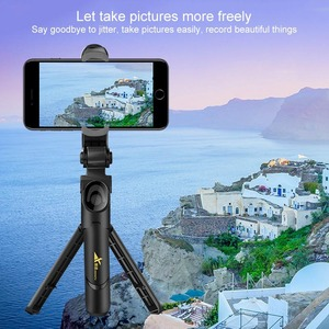 Image 2 - New Trend Selfie Stick Bluetooth Remote Control Three in one Integrated Self timer Tripod Mobile Phone Bracket Live Bracket