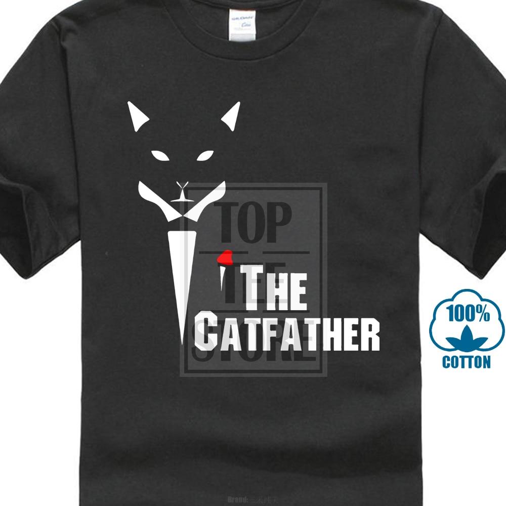 fdf3772f Gildan Newest 2018 Fashion Stranger Things T Shirt O Neck Cotton Short  Sleeve The Catfather Shirt