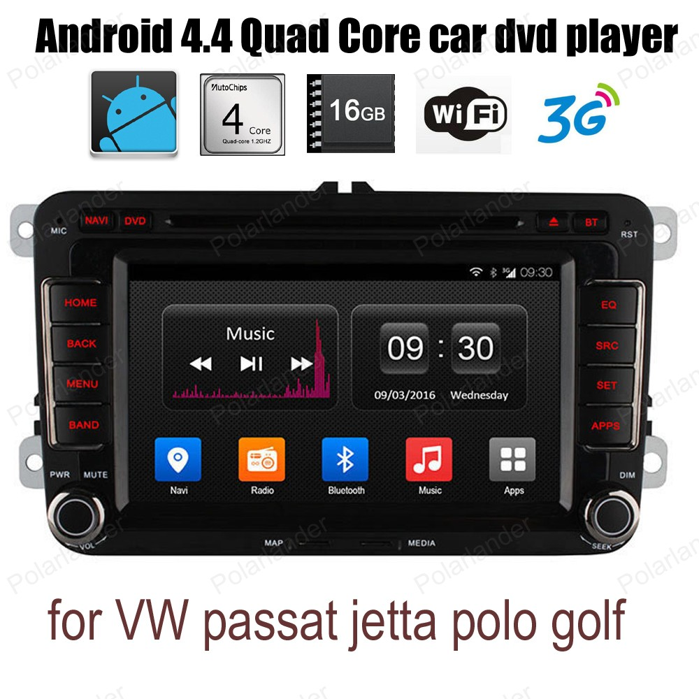 Android4 4 Car DVD CD radio stereo support wifi 3G BT GPS DAB DVR font b