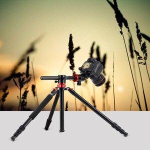 Image 2 - Zomei M8 كاميرا ترايبود Monopod المحمولة المغنيسيوم الألومنيوم حامل ثلاثي القوائم احترافي حامل الإفراج السريع لوحة ل كاميرات DSLR