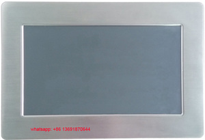 Image 5 - Top grade fanless 10.1 Inch embedded computer touch screen Industrial Panel PC All In One mini pc
