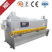 6 2500 Hydraulic Guillotine Steel Sheet Shearing Machine With E21S System
