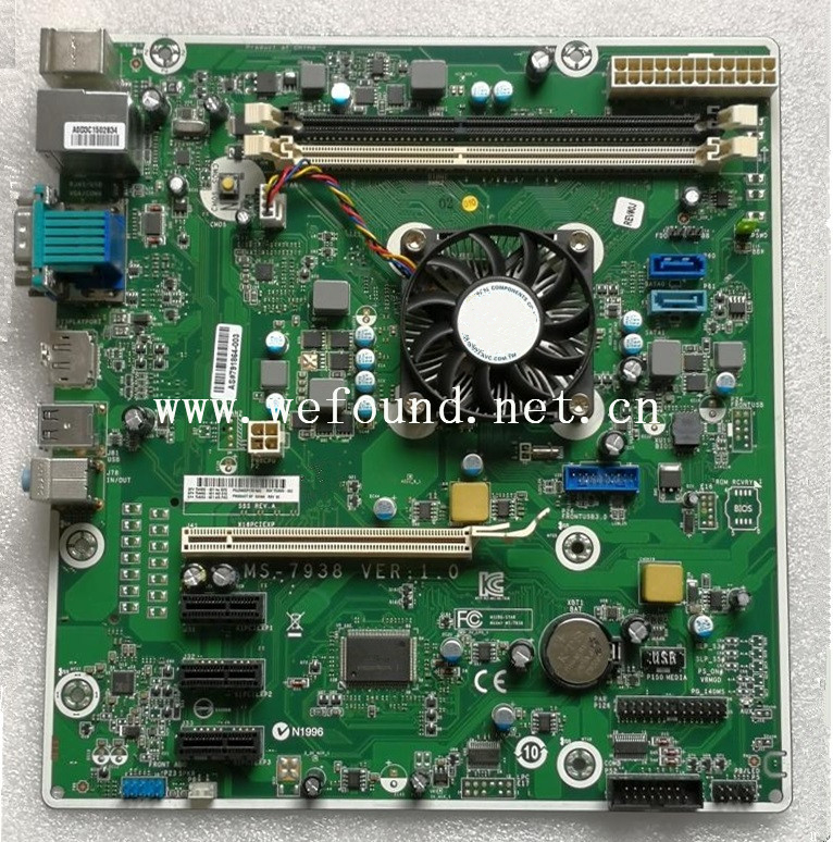 100% Working Desktop Motherboard For 405 G2 MT A8-6410 MS-7938 753929-003 754093-001 754093-501 System Board Fully Tested