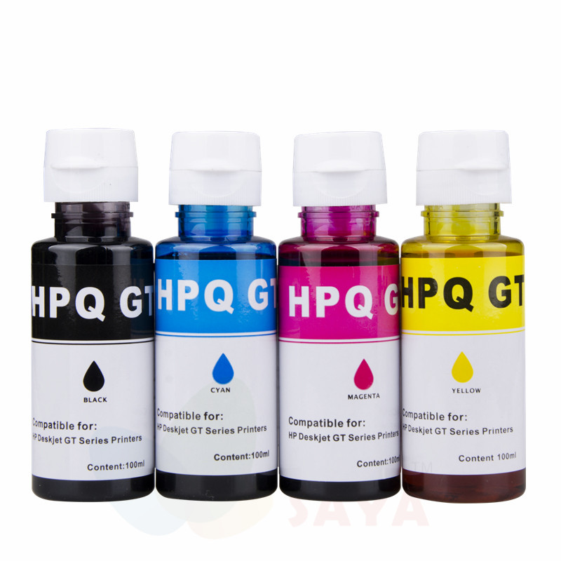 Printer ink refill kit for HP DeskJet GT5810 GT5820   GT51 GT52 ink kit