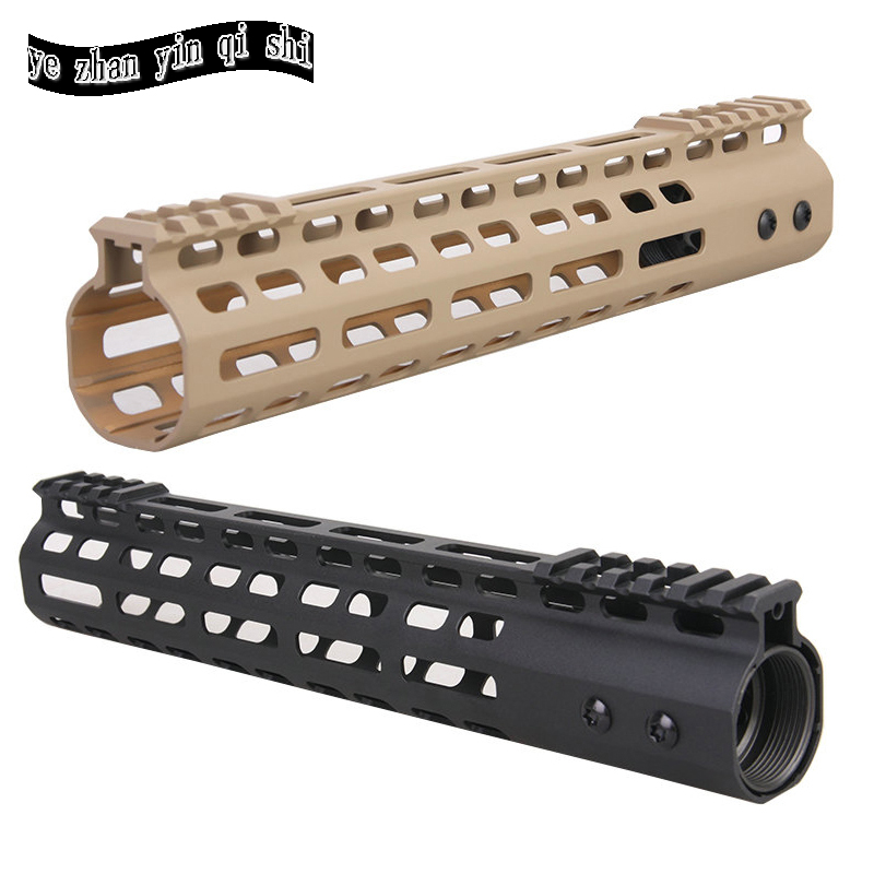 New Lightweight CNC M-LOK 11 inch handguard rail one Picatinny rails system BK/TAN купить