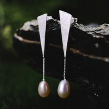 Helmi Pudota Sterling Silver Earrings