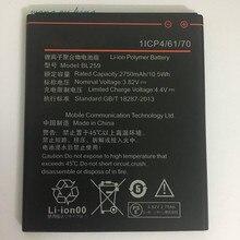 1 pcs 2750mAh BL259 Battery For Lenovo vibe k5 plus K32C30 K32C36 + Tracking Code Free shipping