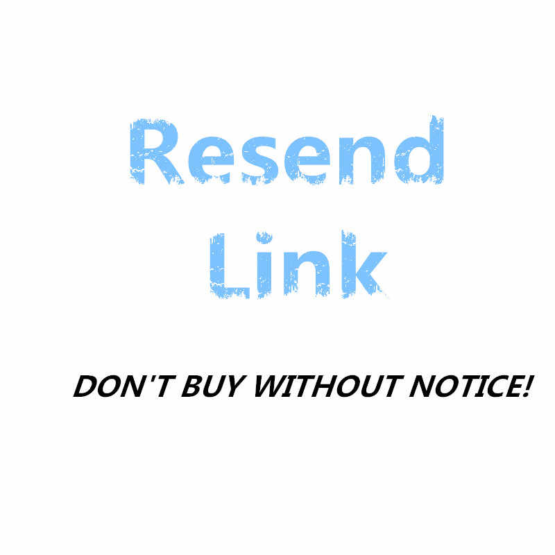 after we reach an agreement,we will resend you by this resend link ,only 0.01$.