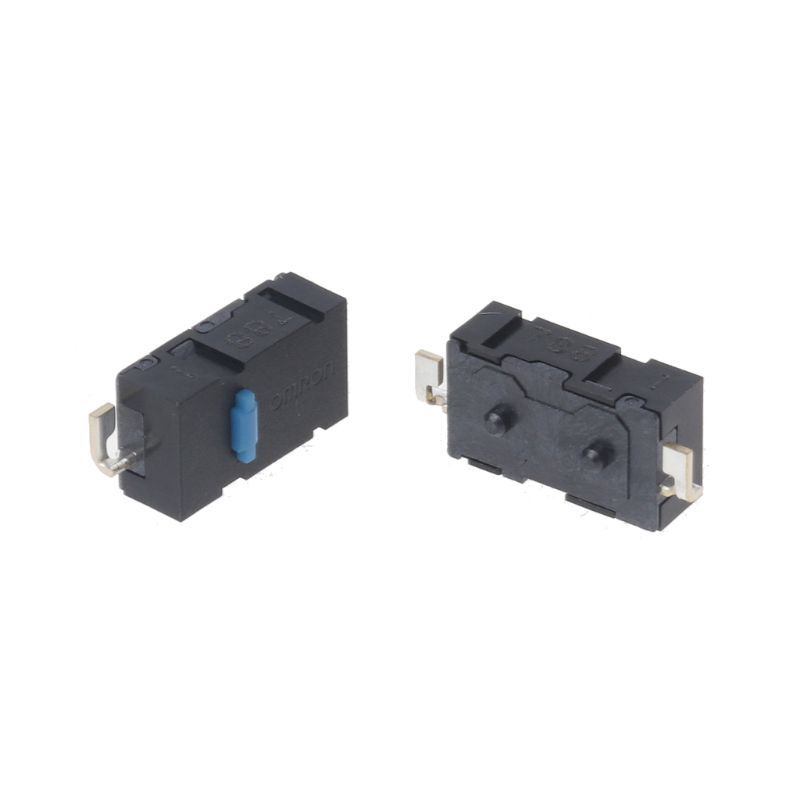 2PCs Original Omron Mouse Micro Switch Mouse Button Blue Dot Side Button For Anywhere MX Logitech M905 G502 G900 ZIP