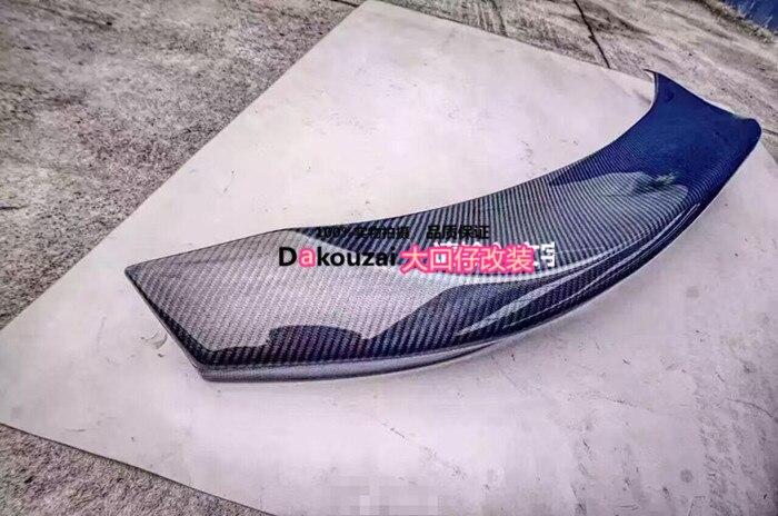 Convient pour toyota 86 BRZ MORTOR jambe SPORT fibre de carbone diffuseur arrière pare-chocs lèvre arrière aileron arrière