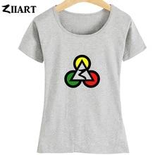 все цены на Poker Club Egypt Pyramids Jamaica Reggae Red Yellow Green Triangle Circle Girl Woman Summer Short-Sleeve T-Shirts ZIIART онлайн