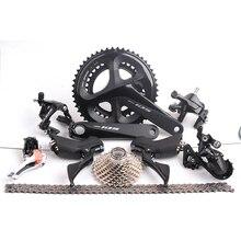 2018 Новая Shimano 105 R7000 2×11 22 Скорость 50×34 Т 53×39 т 170 мм 172,5 мм Дорожный велосипед указано переключатель комплект